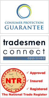 Tradesmen Connect Approved | Consumer Protection Guarantee | NTR - National Trade Register