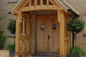 Oak Porch Frampton Mansell
