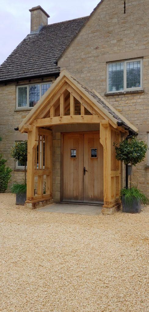 Oak Porch Frampton Mansell