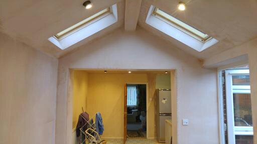 Plastered Extension Cam