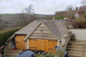 Stone Built Garage Amberley