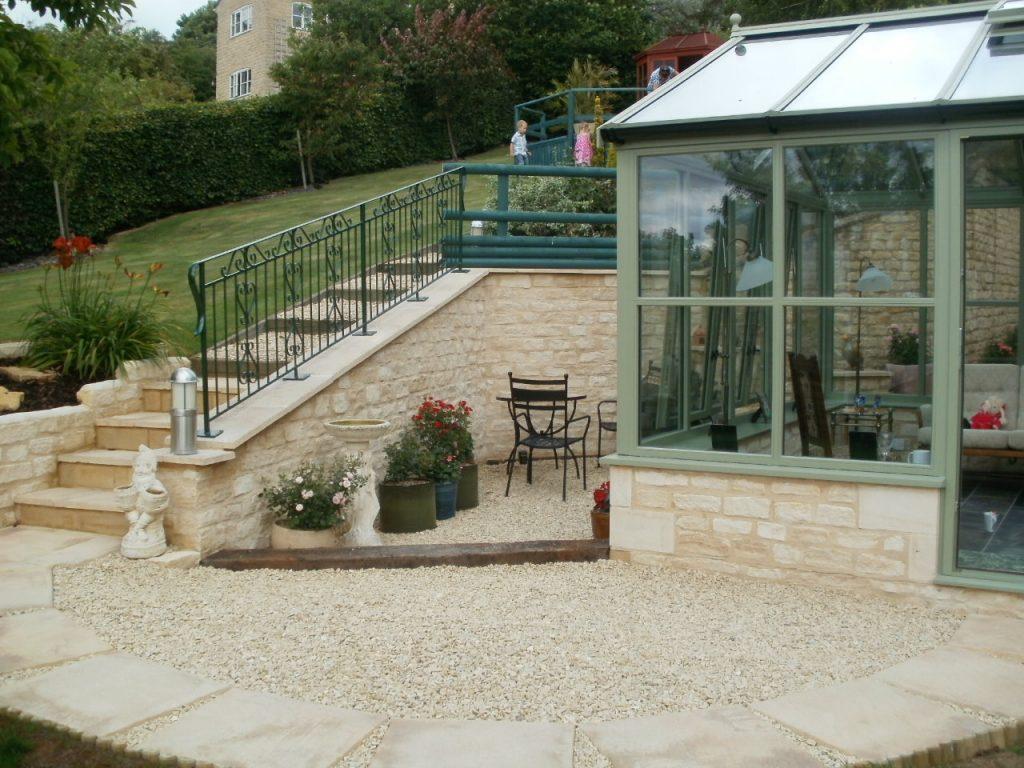 Stone Conservatory and Landscaping Cheltenham