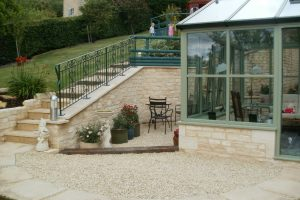 Stone Conservatory and Landscaping Cheltenham